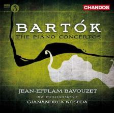 BARTÓK - PIANO CONCERTOS CD BAVOUZET, NOSEDA, BBC PHLIHARMONIC