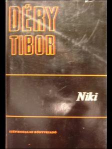 DÉRY TIBOR - Niki; Szemtől szembe; Képzelt riport egy amerikai pop-fesztiválról [antikvár]