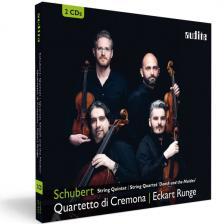 SCHUBERT - STRING QUINTET 2CD QUARTETTO DI CREMONA