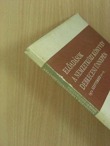 Benda Kálmán - Előadások a nemzetközi könyvév debreceni ünnepén [antikvár]