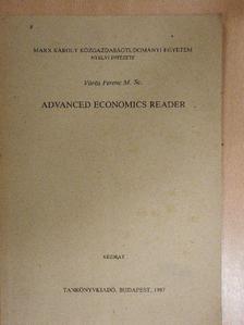 Vörös Ferenc - Advanced Economics Reader [antikvár]