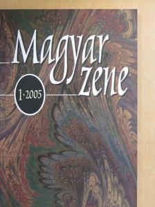 Fodor Géza - Magyar zene 2005/1. [antikvár]