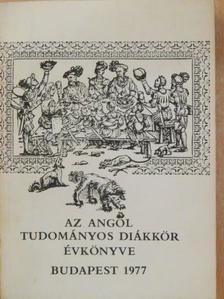 Bánki Dezső - Az Angol Tudományos Diákkör évkönyve az 1976/77-es tanévben [antikvár]