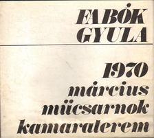 Rózsa Gyula - Fabók Gyula [antikvár]