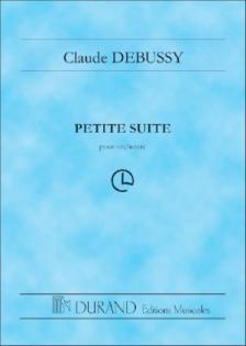 DEBUSSY - PETITE SUITE POUR ORCHESTRE. SCORE