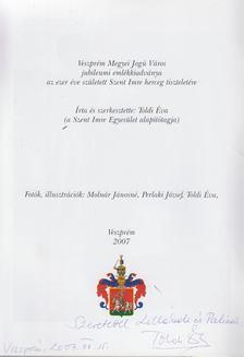 Toldi Éva - Szent Imre nyomában Veszprémben (dedikált) [antikvár]