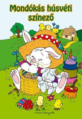 Eszes Hajnal - Mondókás húsvéti színező