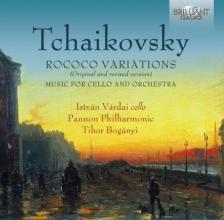 Tchaikovsky - ROCOCO VARIATIONS CD VÁRDAI ISTVÁN