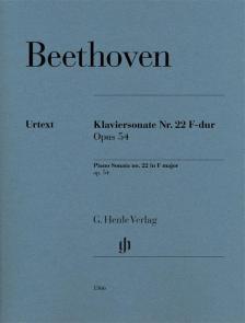 BEETHOVEN - KLAVIERSONATE NR.22 F-DUR OP.54 (NORBERT GERTSCH / MURRAY PERAHIA)