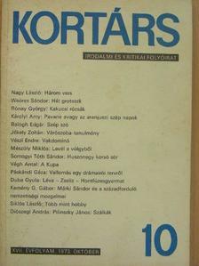 Ágh István - Kortárs 1973. október [antikvár]
