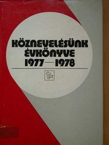 Almásy György - Köznevelésünk évkönyve 1977-1978 [antikvár]
