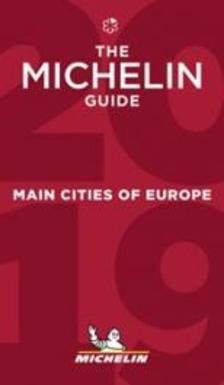 Michelin - Európa fővárosai étteremkalauz 2019 (Red Guide) Michelin