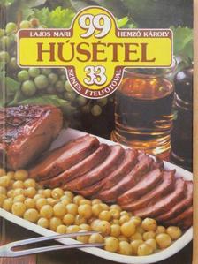 Hemző Károly - 99 húsétel 33 színes ételfotóval [antikvár]