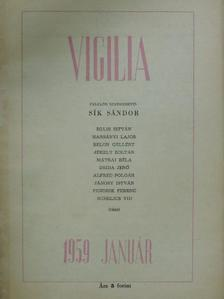 Belon Gellért - Vigilia 1959. január [antikvár]