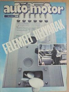 Almássy Tibor - Autó-Motor 1985/14. [antikvár]