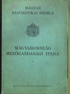 Csiszár József - Magyar Statisztikai Szemle 1939. június [antikvár]