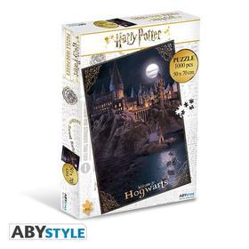 ABYJDP001 - HARRY POTTER - Jigsaw puzzle 1000 pieces - Hogwarts - ABYJDP001
