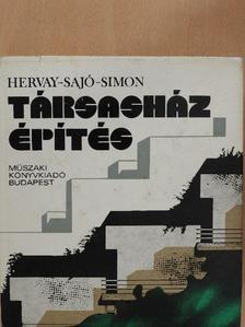 Hervay Hugó - Társasházépítés [antikvár]