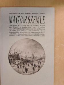 Balogh Júlia - Magyar Szemle 2015. április [antikvár]