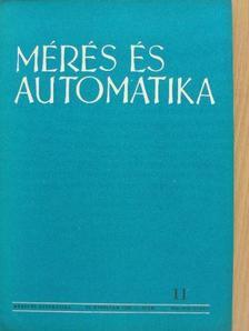 Ágoston Attila - Mérés és automatika 1963/11. [antikvár]