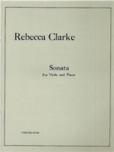 CLARKE, REBECCA - SONATA FOR VIOLA AND PIANO, DURATION OF PERFORMANCE 22 MINUTES