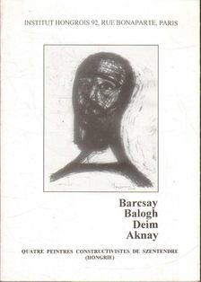 Hann Ferenc - Barcsay-Balogh-Deim-Aknay [antikvár]