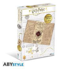 ABYJDP002 - HARRY POTTER - Jigsaw puzzle 1000 pieces- Tekergők térképe - ABYJDP002