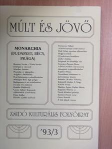 Ágoston Vilmos - Múlt és Jövő 1993/3. [antikvár]