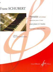 Franz Schubert - FANTAISIE EN FA MINEUR D 940 ORIGINAL POUR PIANO 4 MAINS POUR PIANO 2 MAINS