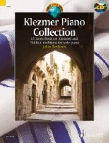 TRAD.ARR. ROWLANDS, JULIAN - KLEZMER PIANO COLLECTION. 22 TUNES FORM THE KLEZMER AND YIDDISH TRAD. FOR SOLO PIANO + CD