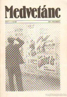 Poszler György - Medvetánc 1987/3-4. szám [antikvár]
