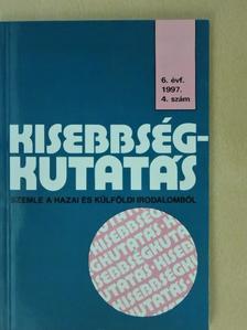 Bodó Barna - Kisebbségkutatás 1997/4. [antikvár]