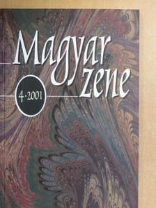 Borgó András - Magyar zene 2001/4. [antikvár]