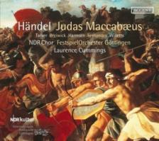GEORGE FRIDERIC HANDEL - JUDAS MACCABAEUS 2CD LAURENCE CUMMINGS