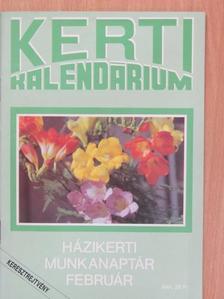 Brányik Tamás - Kerti Kalendárium 1991. február [antikvár]