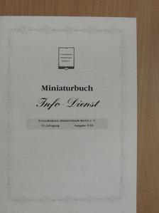 Angelika Jäck - Miniaturbuch Info-Dienst 2001/2. [antikvár]