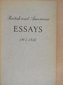 Dylan Thomas - British and American Essays 1905-1956 [antikvár]
