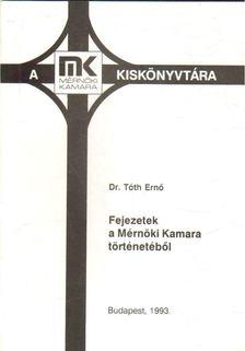 Fejezetek a Mérnöki Kamara történetéből [antikvár]