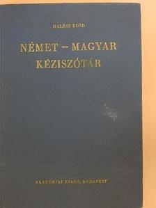Halász Előd - Német-magyar kéziszótár [antikvár]