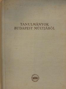 Barta István - Tanulmányok Budapest múltjából XIV. [antikvár]