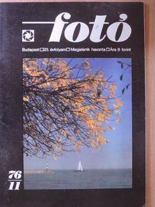 Győri Lajos - Fotó 1976. november [antikvár]
