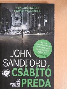 John Sandford - Csábító préda [antikvár]