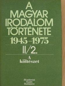 Béládi Miklós - A magyar irodalom története 1945-1975. II/2. [antikvár]