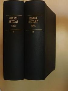 Ács Géza - Orvosi Hetilap 1968. I-II. [antikvár]