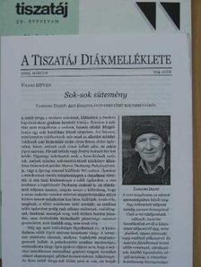 Acsai Roland - Tiszatáj 2005. március [antikvár]