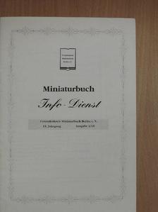 Angelika Jäck - Miniaturbuch Info-Dienst 2001/3. [antikvár]
