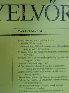 B. Fejes Katalin - Magyar Nyelvőr 1996. július-szeptember [antikvár]