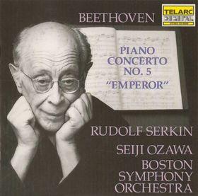 BEETHOVEN - PIANO CONCERTO NO.5 CD SERKIN
