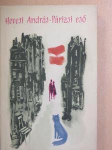 Hevesi András - Párizsi eső [antikvár]