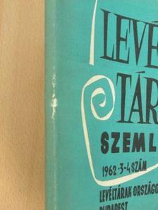 Antal Árpád - Levéltári Szemle 1962. július-december [antikvár]